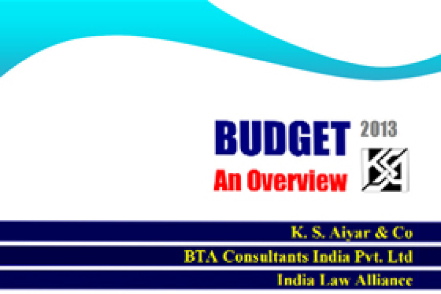India Budget 2013